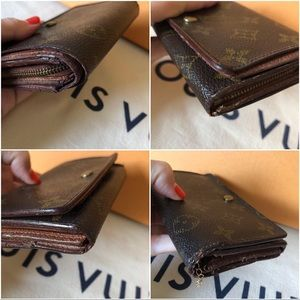 Louis Vuitton Bags - Louis Vuitton Porte Monnae Monogram Wallet Vintage